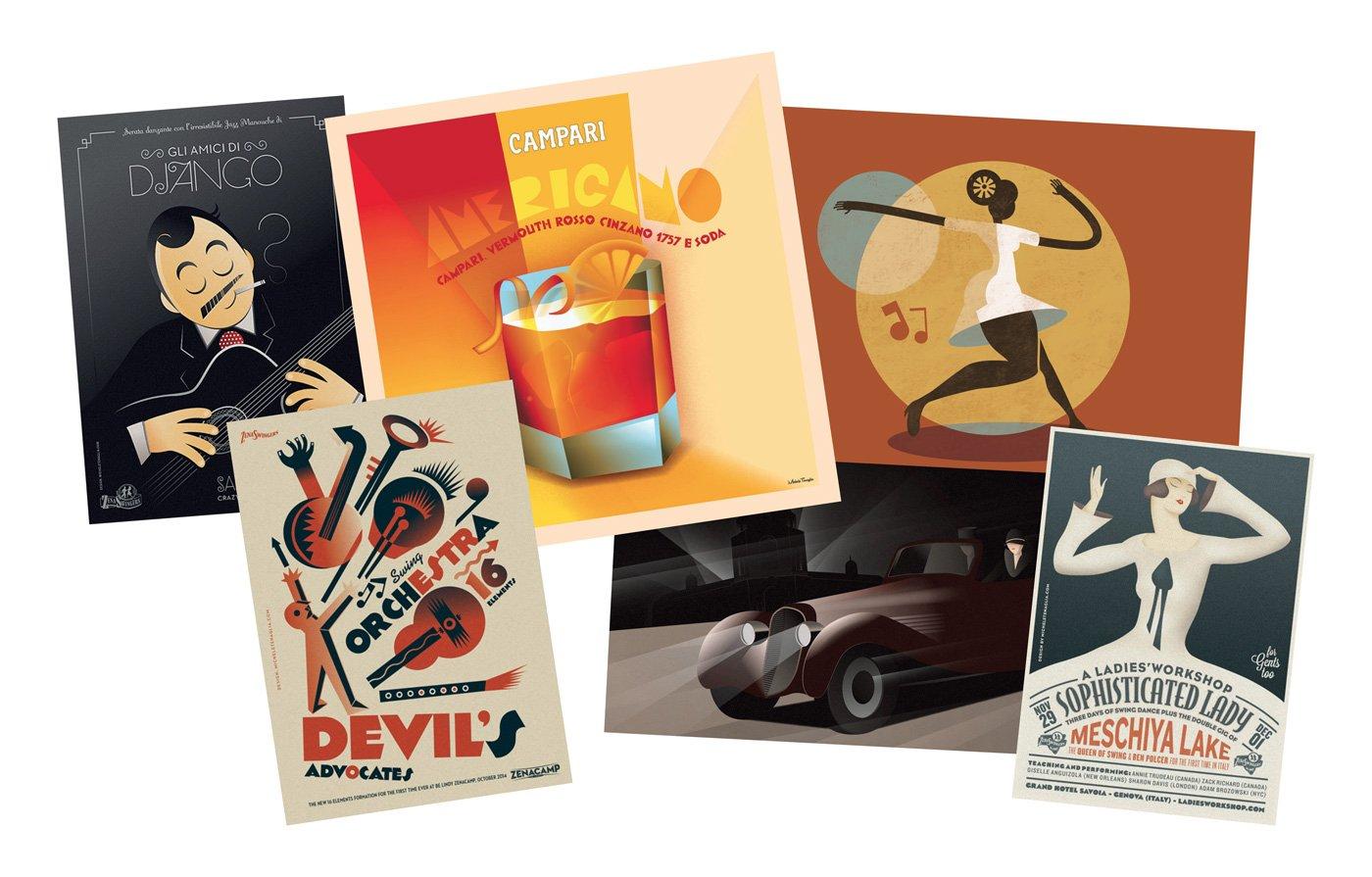 Michele tenaglia, grafico e illustratore